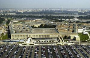 Pentagon USA - widok na Waszyngton