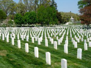 Cmentarz w Arlington, USA