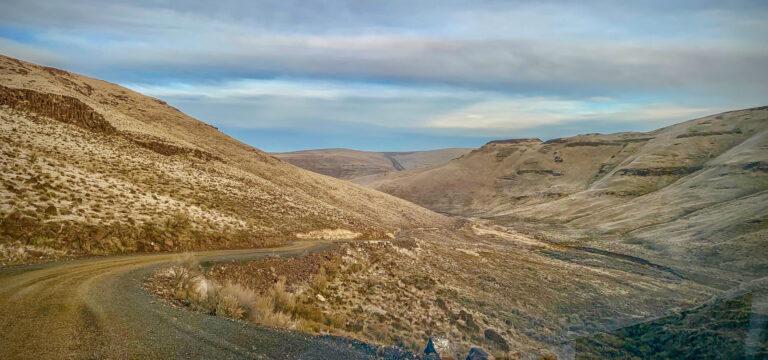 The Oregon Historic Trail Road