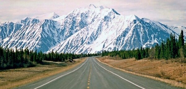 Trasa podróży - Alaska Highway