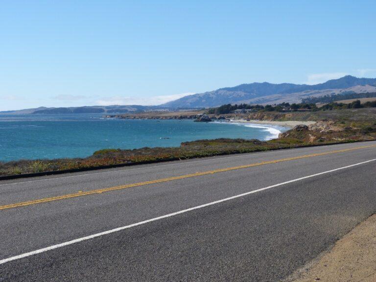 Droga numer 1 - widok na ocean