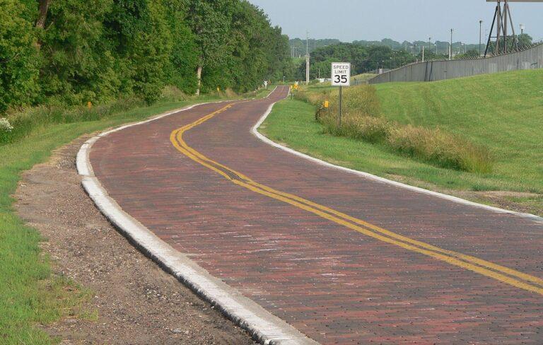 Brukowany odcinek Lincoln Highway