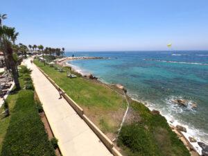 Deptak w Pafos
