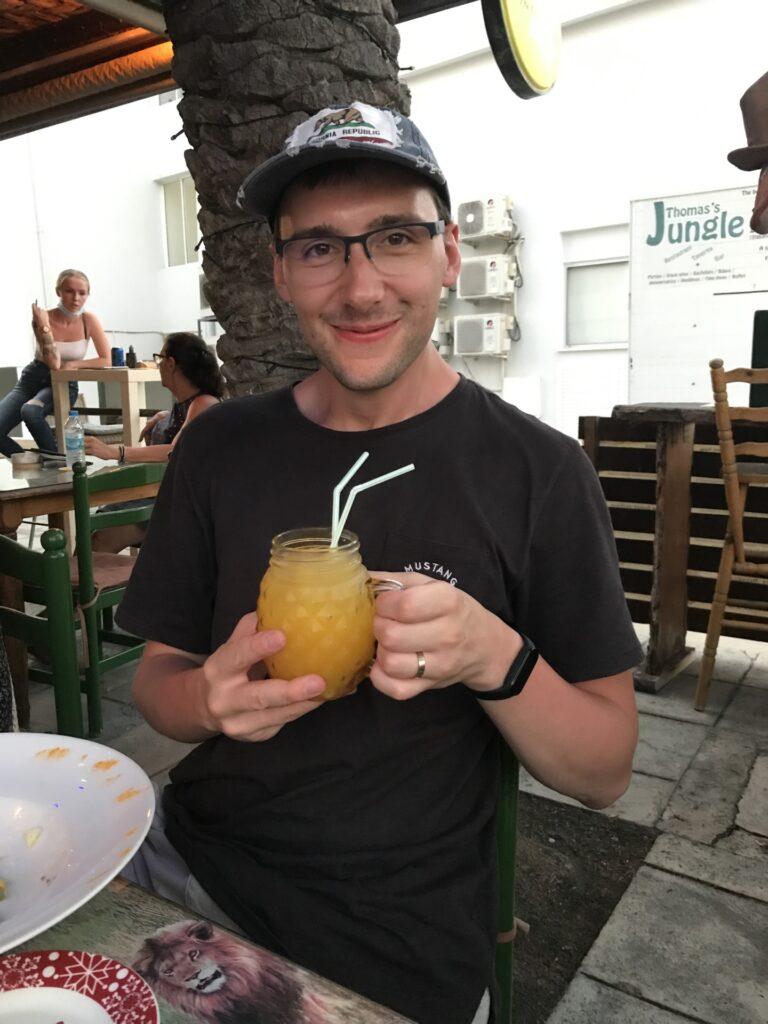 Drink scorpio w Thomas's Jungle Pub