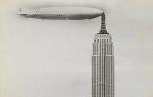 Empire State Building zeppelin dockowanie