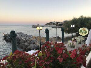 Restauracja w Makry Gialos, Kreta