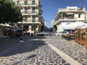 Uliczki w Agios Nikolaos, Kreta
