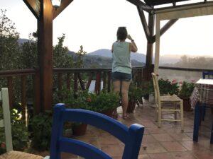 Widok na góry, Kreta