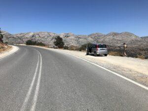 Widokowa trasa, Kreta