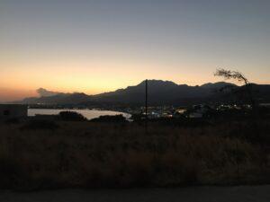 Widok na Makry Gialos, Kreta