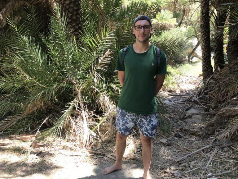 Palmy na plaży Preveli, Kreta
