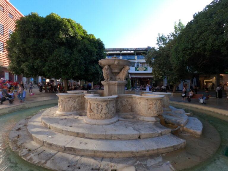 Fontanna w Heraklionie