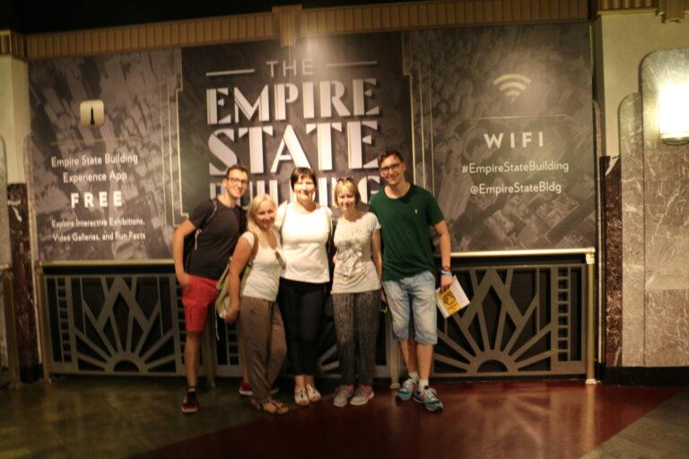 Wnętrze Empire State Building