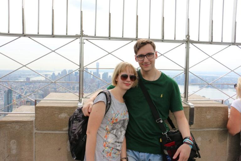 Taras widokowy na Empire State Building