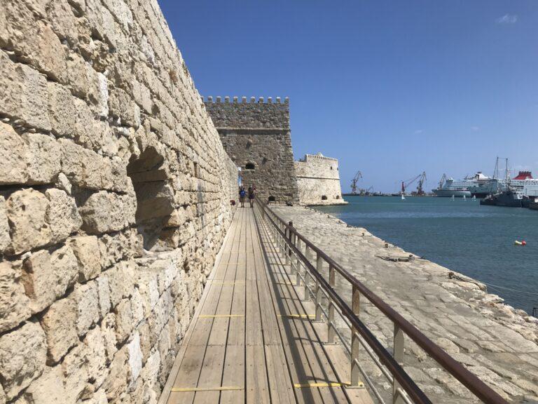 Mury fortecy w Heraklionie