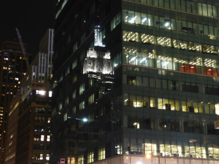 Empire State Building nocą